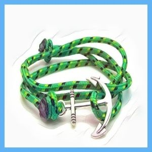 Jewelry - Handmade Paracord Anchor Bracelet  . Material: All